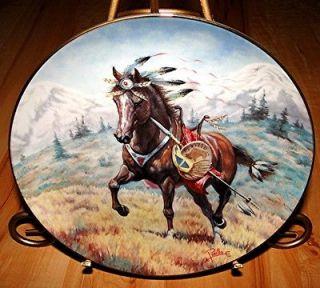 franklin mint horse plates
