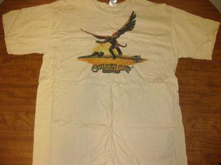 NEW HOLLAND BREWING flying monkey lrg T shirt Golden Cap Saison Ale