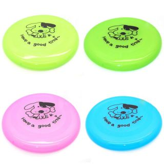 Pet Dog Training Frisbee Toys Cat Flying Disc Garden Beach Flyer Toy