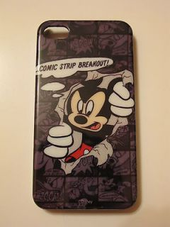 Mickey Minnie Mouse Disney mobile Phone skin case cover to Iphone 4