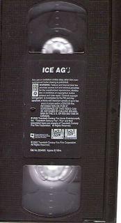 Ice Age (VHS) 2002