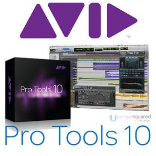 Avid Pro Tools 10 (Full Version Boxed) Audio Recording Software for