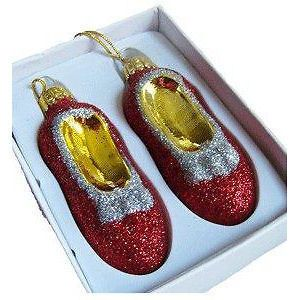 Ruby Slipper Ornaments Wizard of Oz