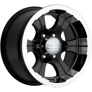 Devino 349 Wheels Rim 8x165.1 8 Lug Chevy GMC Dodge Ram 2500 2500HD