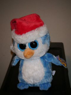 FAIRBANKS the Blue Penguin Beanie Baby Boos Boos ~ Creased Tag ~ RARE