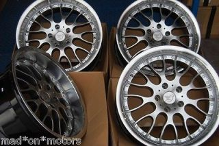 19 SILVER DEEP DISH BMW ALLOY WHEELS FITS E39 SALOON 5 SERIES