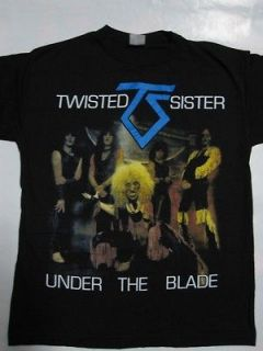 Twisted Sister   Under The Blade T shirt
