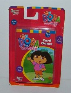 University Games Nick Jr. Dora The Explorer Card Game NEW SEALED