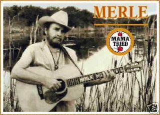 Merle Haggard   MAMA TRIED T Shirt