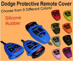 Dodge, Chrysler, Jeep Keyless Entry Remote Cover Jacket