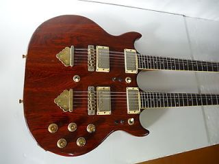 GRECO GOO 1500 DOUBLE NECK GUITAR 6 + 12 Strings Japan 1978 w/ Hard