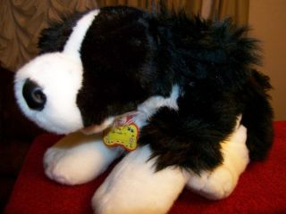 NEW Border Collie   Plush Dog Border Collie   Plush Dog