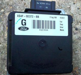 Ford Contour Mystique FPDM Fuel Pump Driver Module XS4F 9D372 BB /60