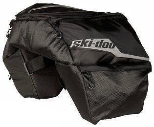 Ski Doo New OEM Rear Seat Combo Bag Luggage/Storag e/Cargo/Saddle