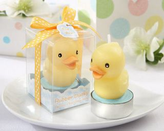Rubber Ducky Candle Baby Shower Birthday Party Favor