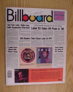 1987 BILLBOARD Magazine April 18 Beastie Boys Steve Miller Bob Seger