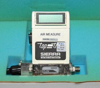Sierra Top Trak Mass Flow Meter 822S M 3 OV1 P V1 V1 AIR