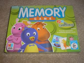 Brand New Factory Sealed Nick Jr. The Backyardigans Memory Game