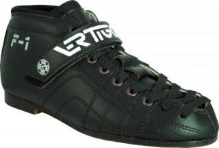 Luigino Vertigo F1 Roller Derby Speed Skate Boots With Power Strap