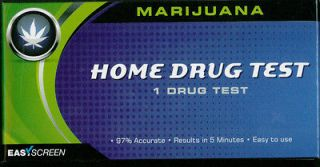 Marijuana Home Drug Test Kit 97% Acurate Results in 5 Minutes