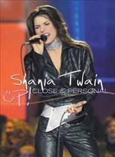 SHANIA TWAIN   UP! CLOSE & PERSONAL (MUSIC DVD)