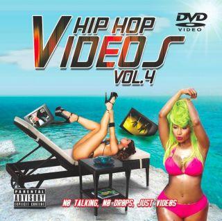 HIP HOP VIDEOS VOL. 4 (DVD) DRAKE BIG SEAN 2 CHAINZ TYGA CHRIS BROWN E