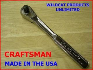 Newly listed CRAFTSMAN 3/8 DRIVE QUICK RELEASE RATCHET NEW WITH NO