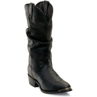 Durango RD540 Womens Black Slouch Western Boots Size 8 M