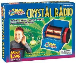 Slinky Science MiniLab Crystal Radio Kit SLY02012