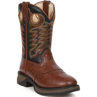 BT300 Rebel by Durango Boys Dusk & Black Saddle Western Boots Size 6
