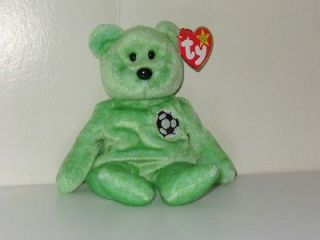 Beanie baby   Kicks the bear