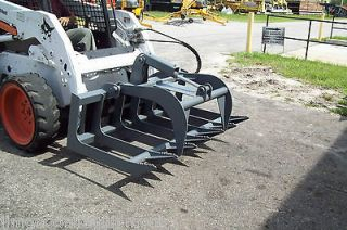 Root Grapple Light Duty for Smaller Loaders,48 Width,New,Made in USA
