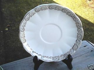 East Palestine Ohio Royal China Plate 22 kt Gold TrIm