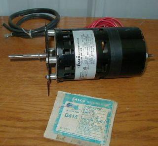 FASCO D414 Electric Motor 230V 1500rpm 1/50 hp (G8)