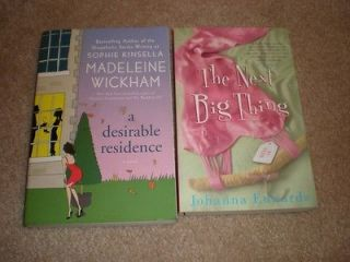 Desirable Residence by Madeleine Wickham & The Next Big Thing by