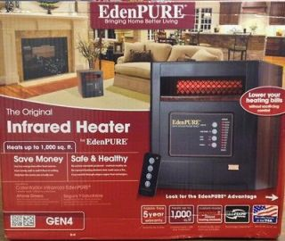 Eden Pure Heater Gen 4 Infrared Heater