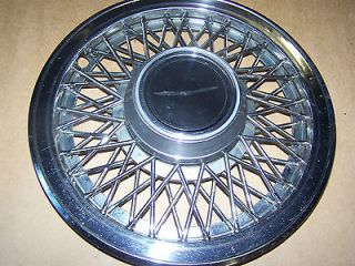Factory 83/88 Ford Thunderbird 14 wire wheel cover/hubcap