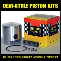 SKI DOO ELAN 294, 300SS 74 75 SPI PISTON KIT 57MM