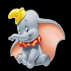 Dumbo The Elephant Wall Stickers Nursery Kids Baby Art Home Decor Room