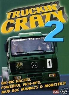 Truckin Crazy 2 DVD Monster Trucks, Big Rigs, Truck Racing, Tractor