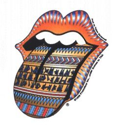 13315 Rolling Stones Egyptian Tongue Logo Sticker Decal