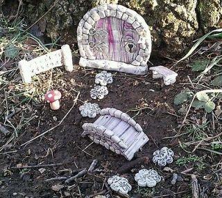 Fairy Door Garden kit 68 Hobbits Elves And Gnomes