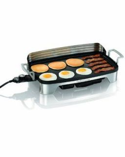 Hamilton Beach Premiere Cookware Electric Griddle NEW