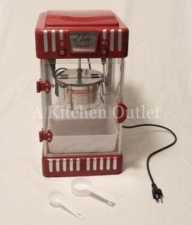 Elite 2.5 Oz Easy Automatic Home Popcorn Machine Retro Classic