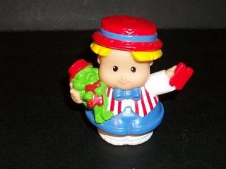 Fisher Price Little People Circus Fun Park Carnival Eddie with Red