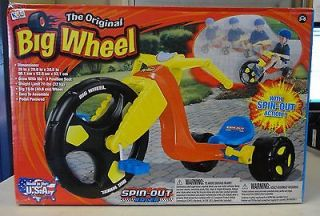 Original Big Wheel 16 inch Red Spin Out Racer Boys/Girls/Kids Tricycle