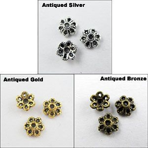 60pcs acrylic bead silver foil hole Pony beads Jewelry Findings 9x6mm