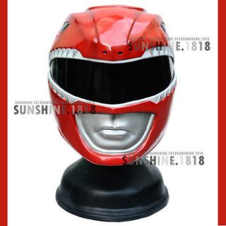 RED POWER RANGERS MIGHTY MORPHIN HELMET COSTUME 1/1