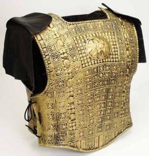 Roman Spartan Armor W Fringes Gold New 21998