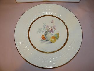 Royal China 22 Kt Gold Collector Plate The Edwin M. Knowles China